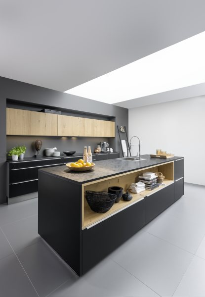 """GroupBK On Twitter: """"High Gloss Grey #Nolte Kitchen With"""