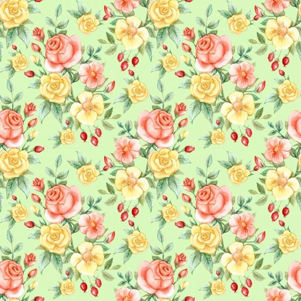 Roses Vintage Background Wallpaper Image By Karen Arnold Buffly 2lk2sDb Freeimage Pattern Illustration Publicdomain