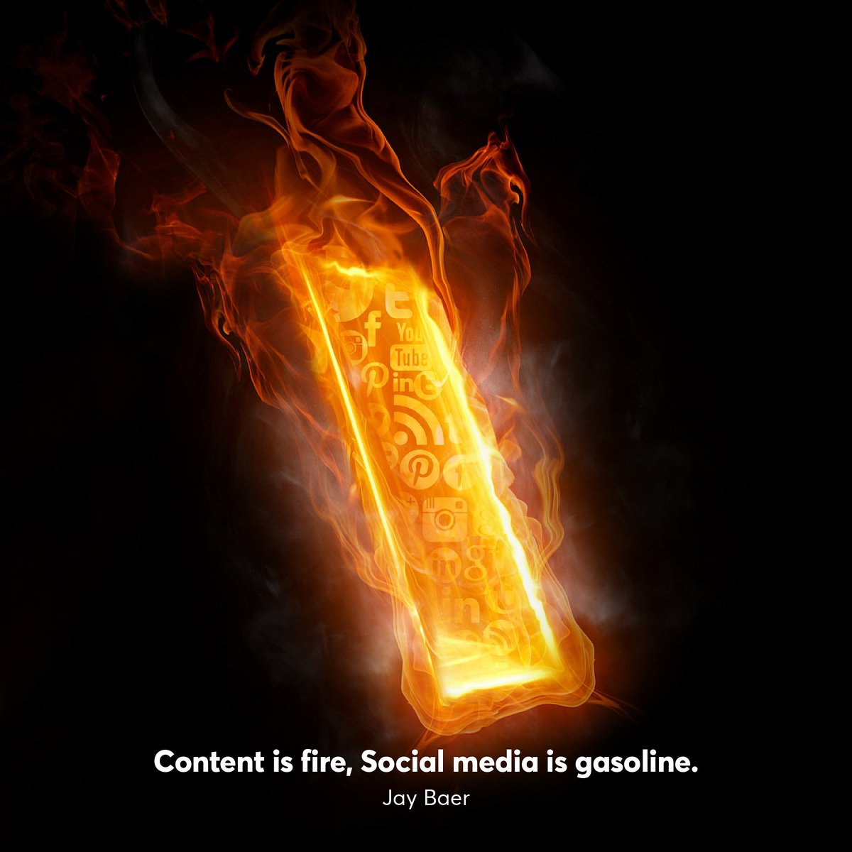 """Ignite your week with creativity 🔥""""Content is fire, social media is gasoline."""" - Jay Baer • • • #tbwa #tbwakuwait #kuwait #sunday  #socialmedia #marketing #creativity #advertising #agency #content #jaybaer https://t.co/K1aNfmIuwx"""