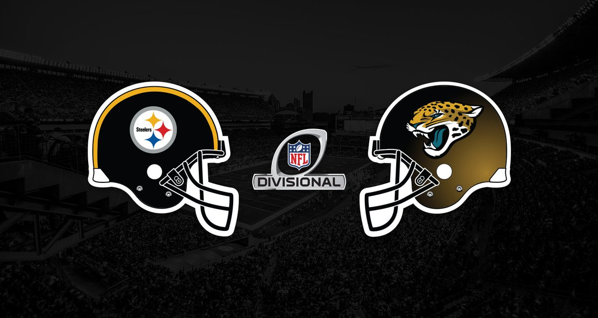 Image result for NFL Playoffs 3 Jacksonville Jaguars vs. 2 Pittsburgh Steelers