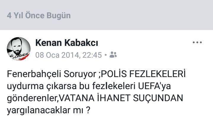 4 Yıl önce sormuştuk, O gün UEFAya Yalan dolan belge yollayanlar hala aramızda ! Farkında mısınız ? @RT_Erdogan @BA_Yildirim @OA_Bak @TCYargitay @EmniyetGM