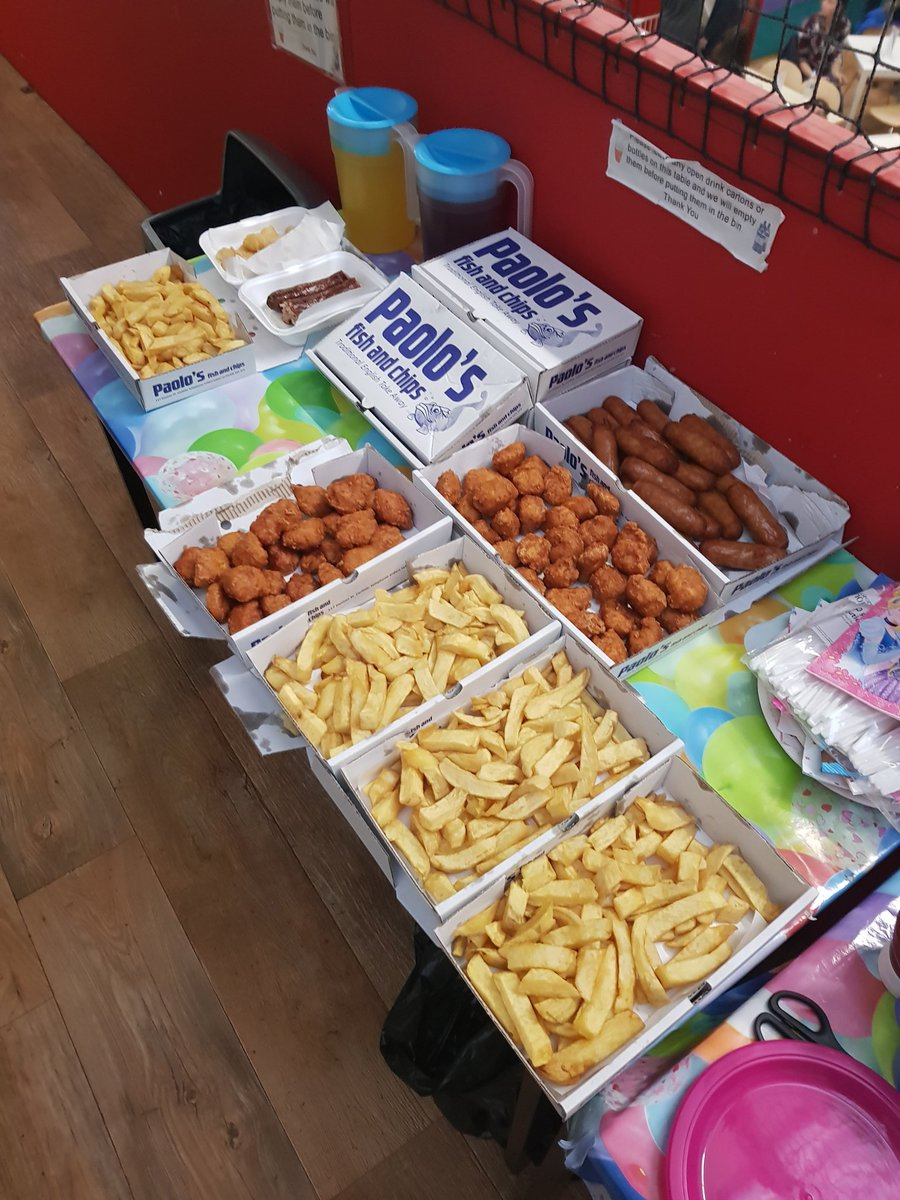 Paolos Chippy on Twitter Catering for a 4 year olds birthday