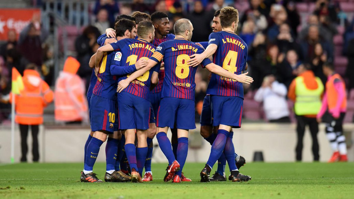 FC Barcelona scored the first victory of 2018 with a a 3-0 demolition of Levante at the Camp Nou. Lionel Messi opened the scoring, Luis Saurez scored the second and Paulinho scored  the third goal.
