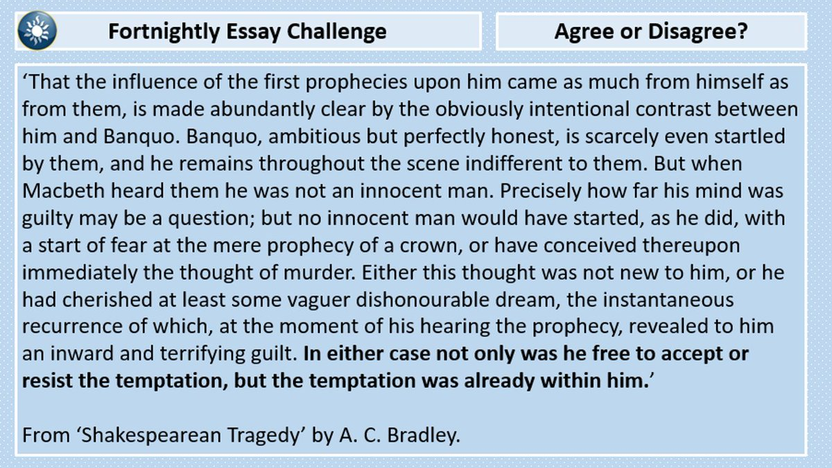 essay about challenges
