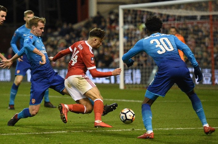 Arsenal player ratings as Per Mertesacker and Rob Holding struggle and Nottingham Forest pull off upset https://t.co/8slUODIHyL