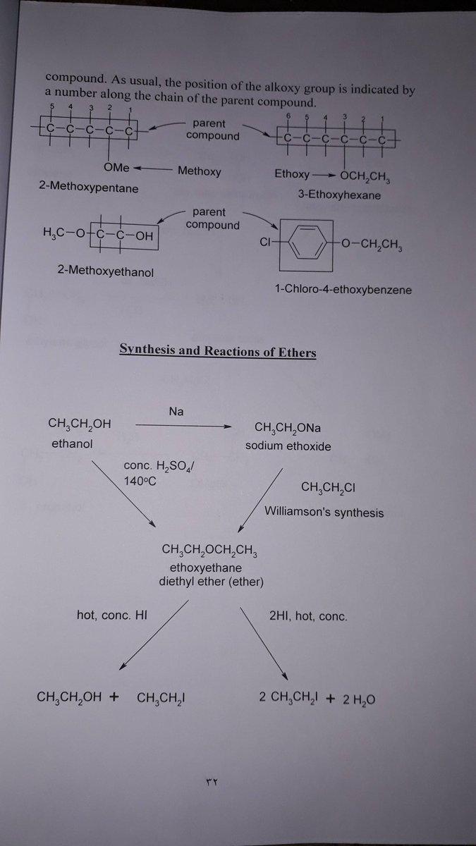 RT @majjaa0904: خذلك نزهه في الإيثرات تسمية وتحضير وتفاعلات والإيبوكسايد #كيمياء https://t.co/KqssaZLp6G
