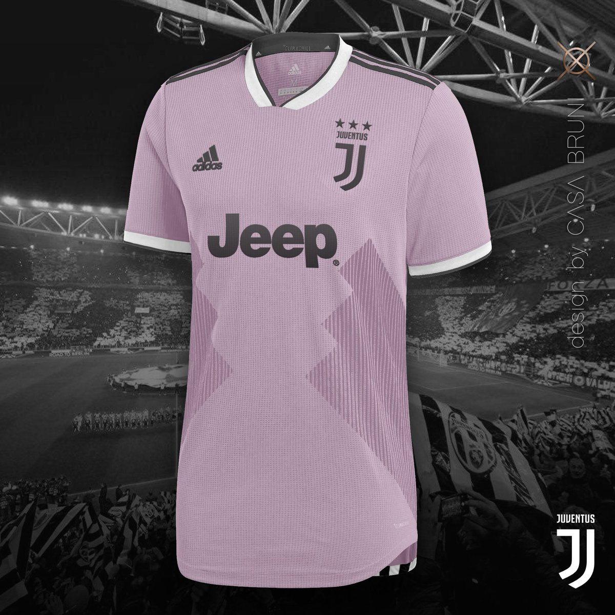 cc17c7878 Juventus Away 2018-19     Pink Zebras 🦓 I think that Juventus and Pink is  a match made in heaven that should never split. So I create this version of  my ...