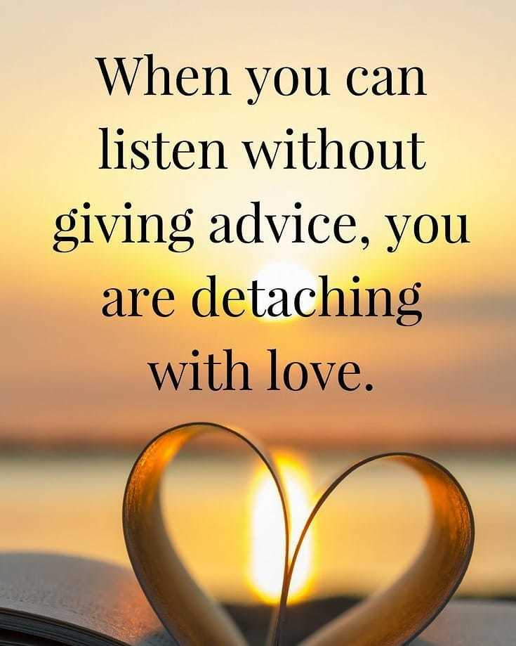 detach with love in marriage