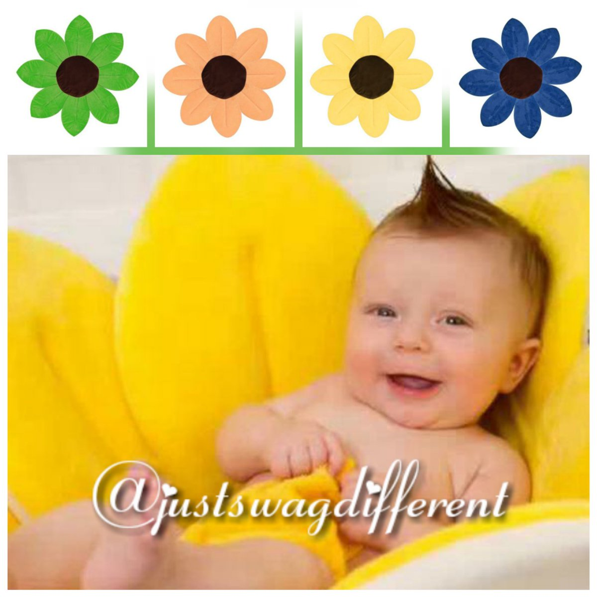 Baby Sink Bath   Foldable Blooming Soft Flower Cushion...  Http://justswagdifferent.com #bath #baby #momlife #momgoals #dadlife #swag  #parenting #unique ...