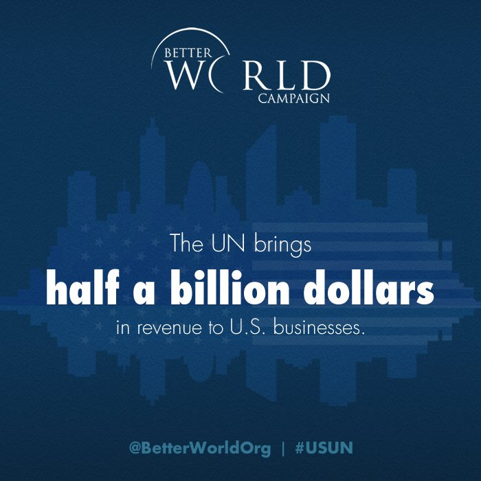 The ROI of the US investing in the @UN goes beyond global peace and security: https://t.co/QVrJhfkkdL #USUN https://t.co/apD2OsJZlY