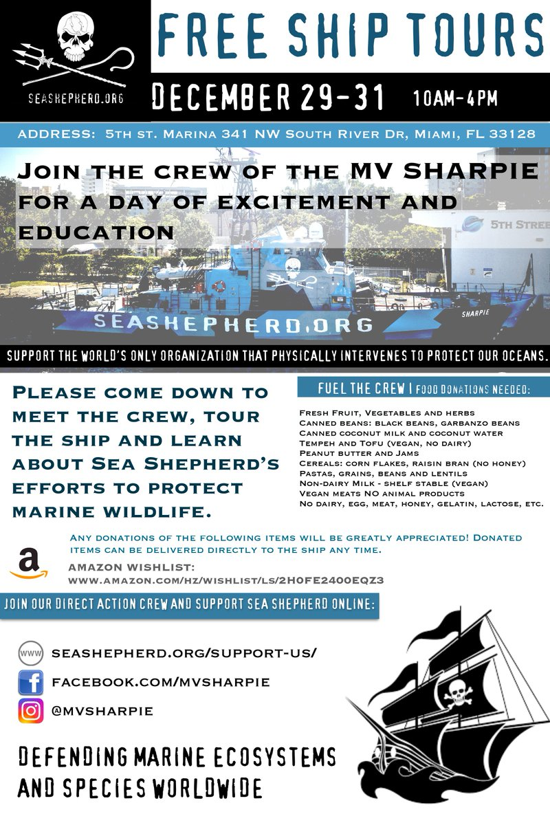Sea Shepherd Sscs On Twitter Come See The Mvsharpie And Meet The