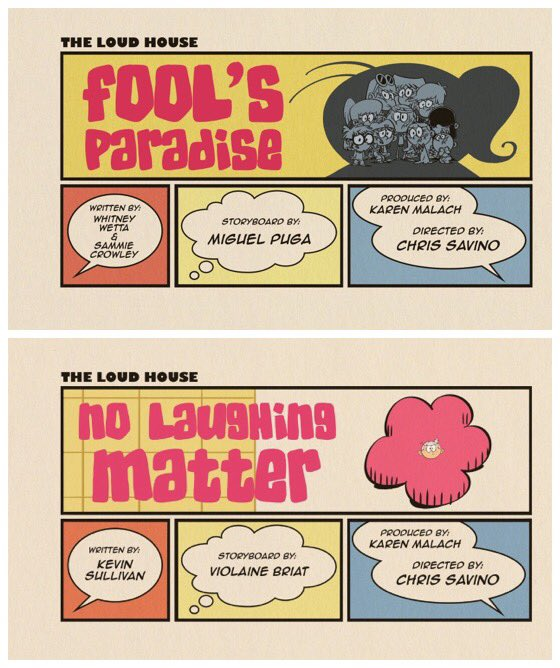 The loud house episodes no laughing matter | List of The Loud House