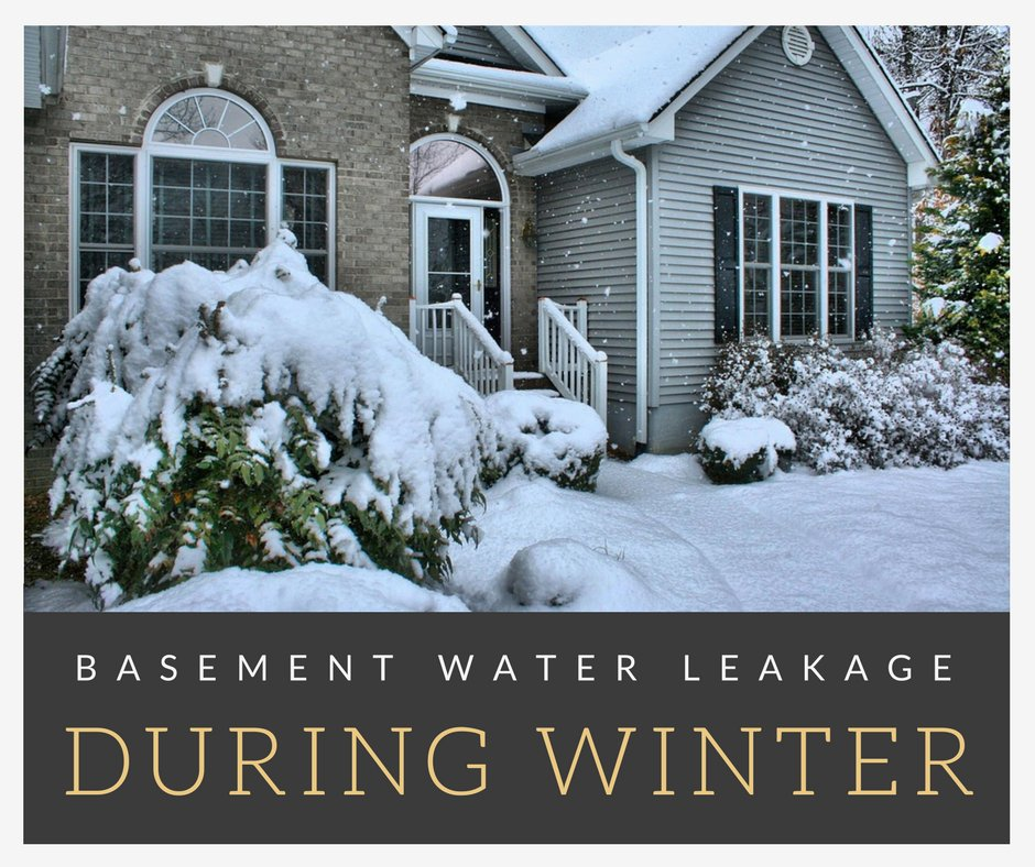 Are You Experiencing Water #leakage In Your #basement During Winter? Read  Our New Blog Post On Some Of The Causes Of This Here: ...