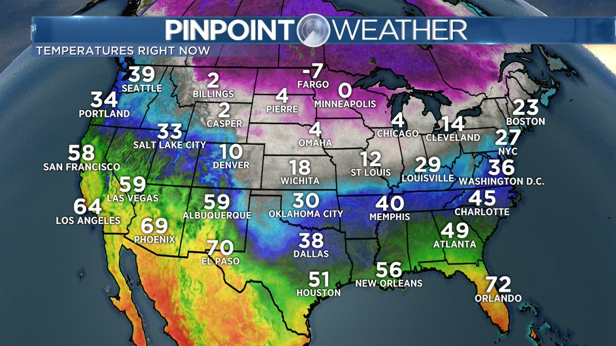 National Temperature Map >> Matt Makens On Twitter The National Temperature Map Sure
