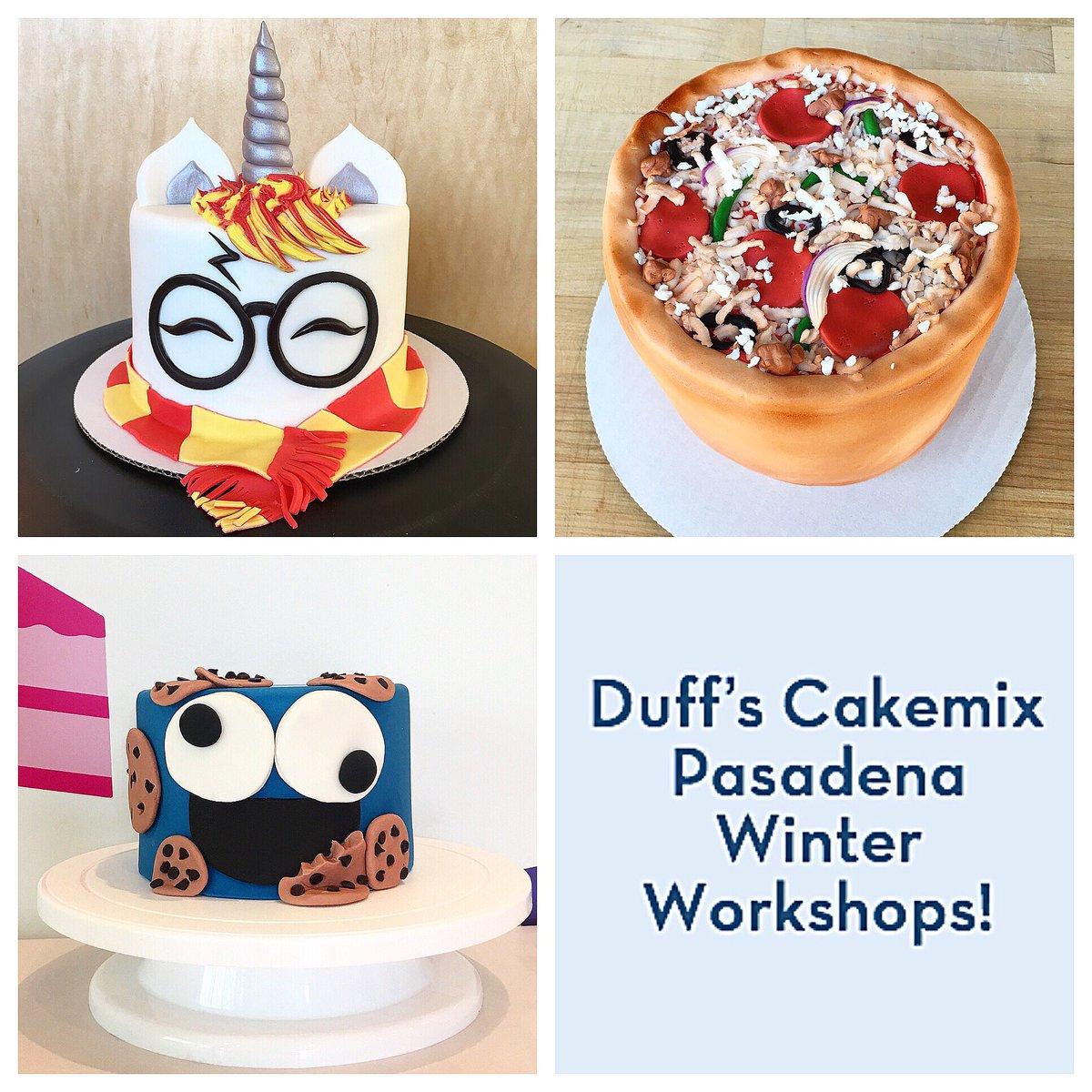 Duff S Cakemix On Twitter Winter Workshops Start Tomorrow