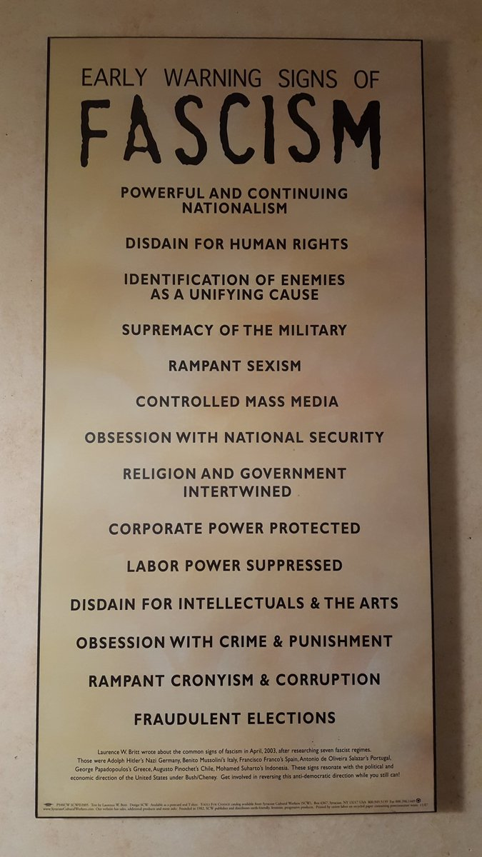 Early Signs Of Fascism >> The Early Warning Signs Of Fascism Pics