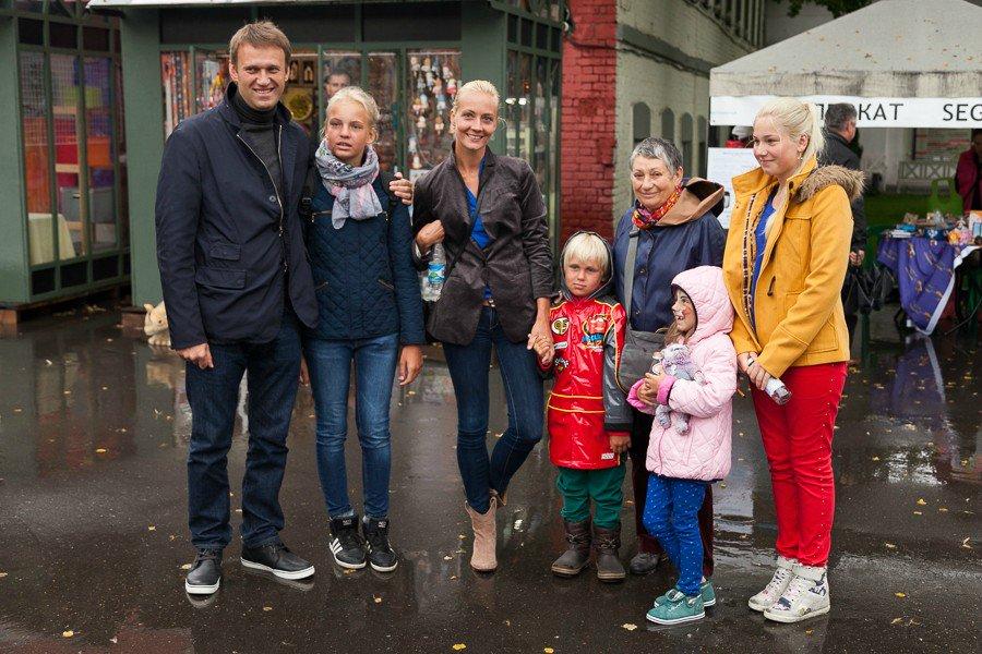 фото навального с семьей маникюр фото