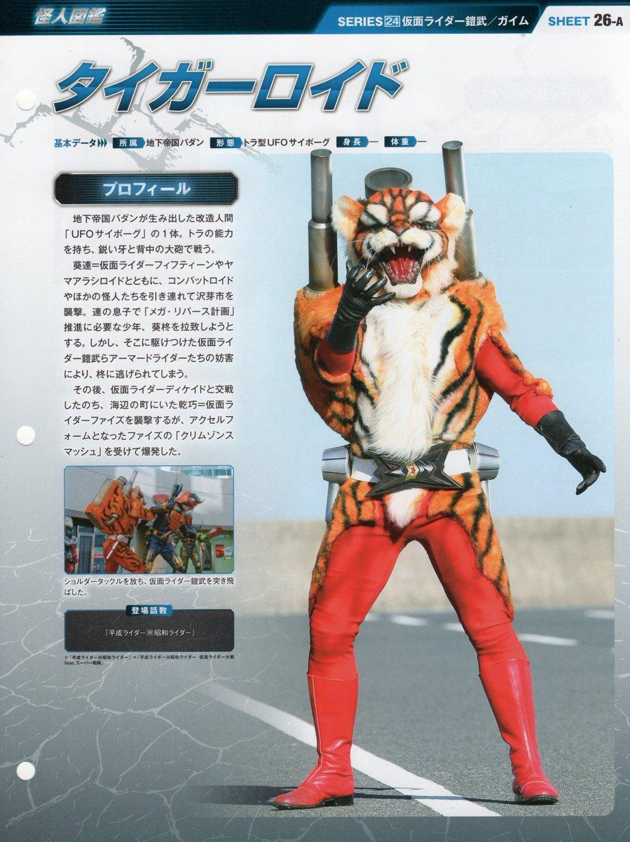 久しぶりに仮面ライダーパートファイルを買ったので昭和と平成のタイガーロイドを比べてみた  …なぜこんなにも造形が違うのか #仮面ライダー
