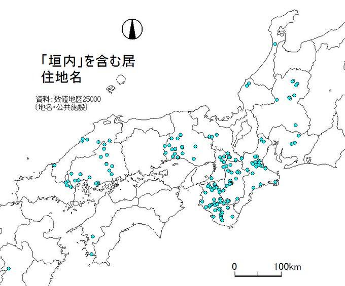 国土地理院提供の「数値地図」、「西日本の渓谷は「谷」東日本は「沢」が多い」などいろいろな情報が可視化できて面白い