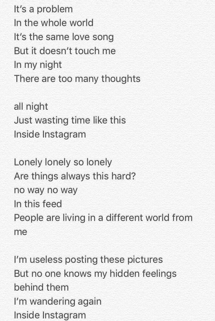 I am so lonely english song