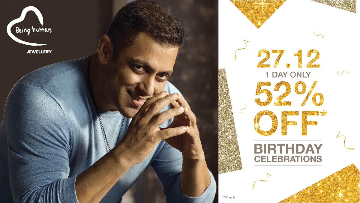 Salman Khan On Twitter Birthday Ka Return Gift For All You Loved Ones