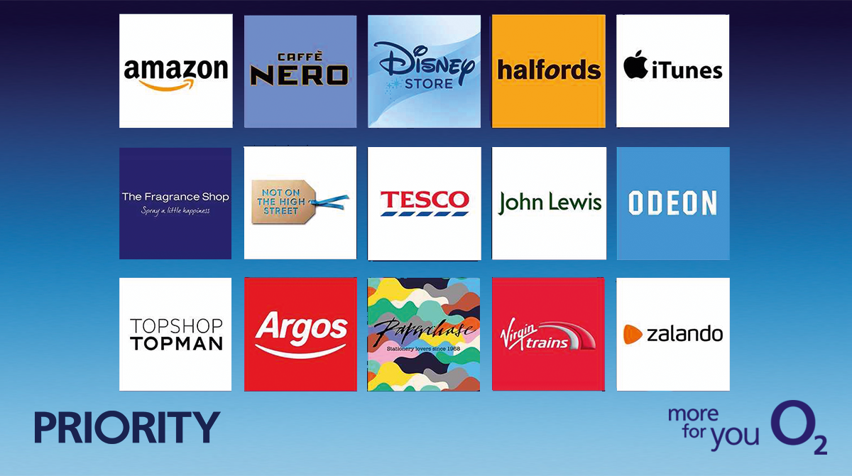 You've spoiled your loved ones. Now it's our turn to spoil you. Treat yourself on us,witha£5 gift card offyour favourite brands. From #O2Priorityto you:  https://t.co/Qn5Es2sSTQ