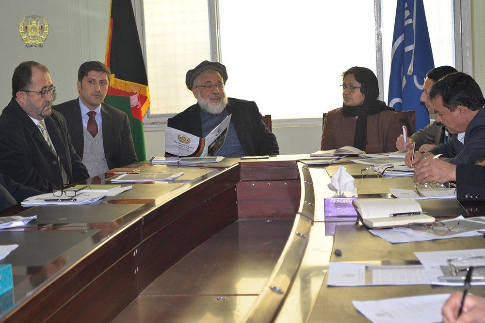 سومین نشست کمیسیون عالی مبارزه باقاچاق انسان وقاچاق مهاجران، برگزار گردید. moj.gov.af/fa/news/334651