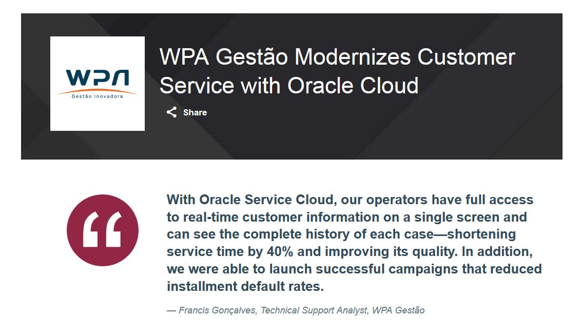 Oracle Service Cloud on Twitter: