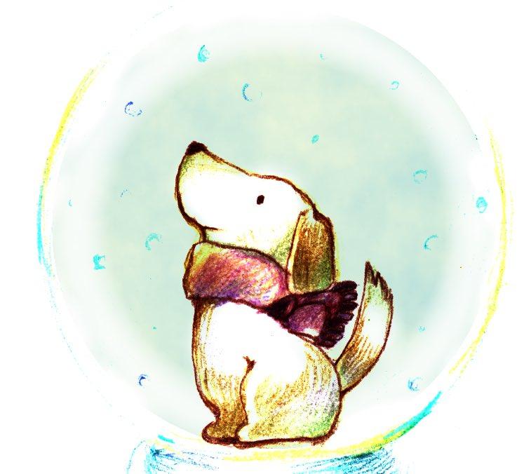 ちなみに謎解きゲームに登場する犬のナッテちゃんは、実家で飼っていたリオン(犬)の子供の頃をモデルに描いています。私の宝物です!