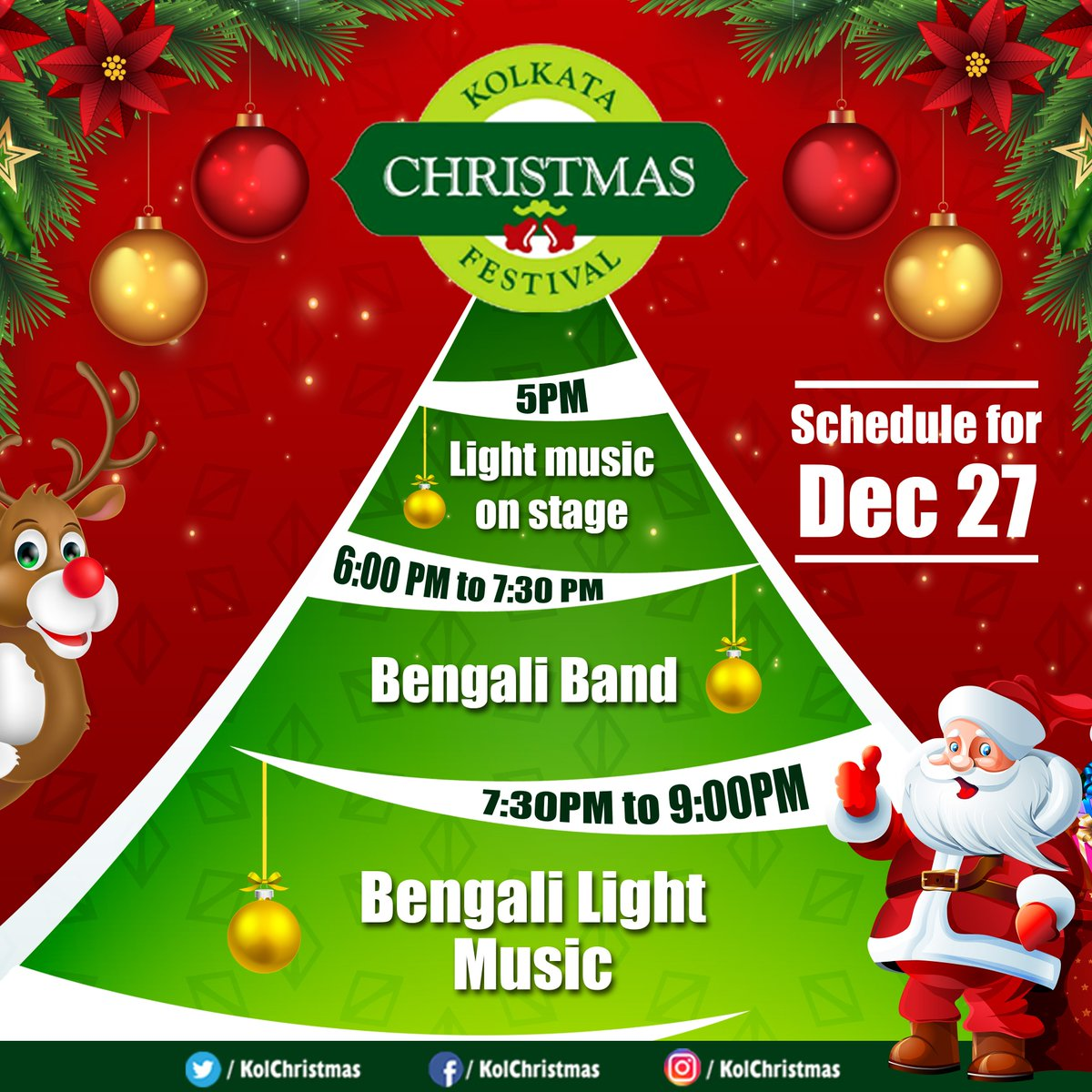Kolkata Christmas on Twitter: \