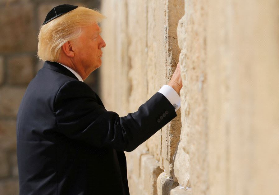 NEW WESTERN WALL TRAIN STATION TO BE NAMED AFTER @realDonaldTrump .  Transportation minister @Israel_katz   advocates for what could be the grandest tribute an American president has ever received from Israel. https://t.co/vhDLJYqYr6  (photo credit: REUTERS / JONATHAN ERNST)