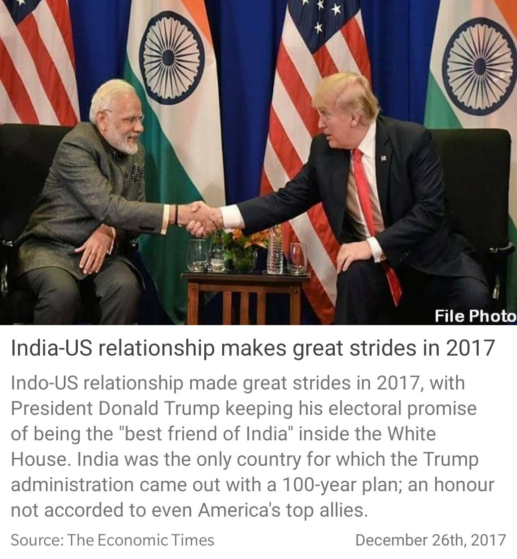 """Maheish Girri on Twitter: """"India-US relationship makes ..."""