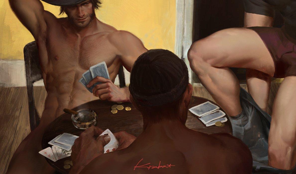 Strip Poker #McReyes  #OOC 给鸡老师@alexbones7 麦受合志的封面图😘