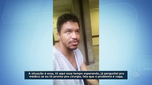 Homem sofre acidente na frente de hospital e tem quatro cirurgias adiadas. Após reportagem do #BalançoGeral, Secretaria de saúde afirma que homem passa por cirurgia nesta quarta-feira (27)