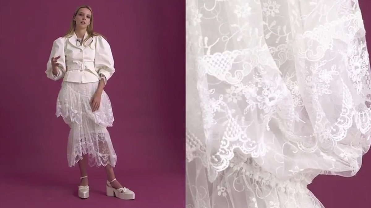 NEW! Poet Greta Bellamacina tells all about her favourite Simone Rocha S/S 18 look as part of our Best in Show series: https://t.co/VOjR6GGuGn https://t.co/YJMgyyg184