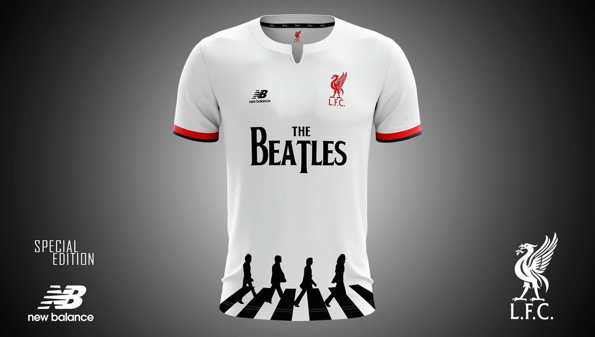 """FootyRoom on Twitter: """"#TheBeatles x #Liverpool Concept # ..."""