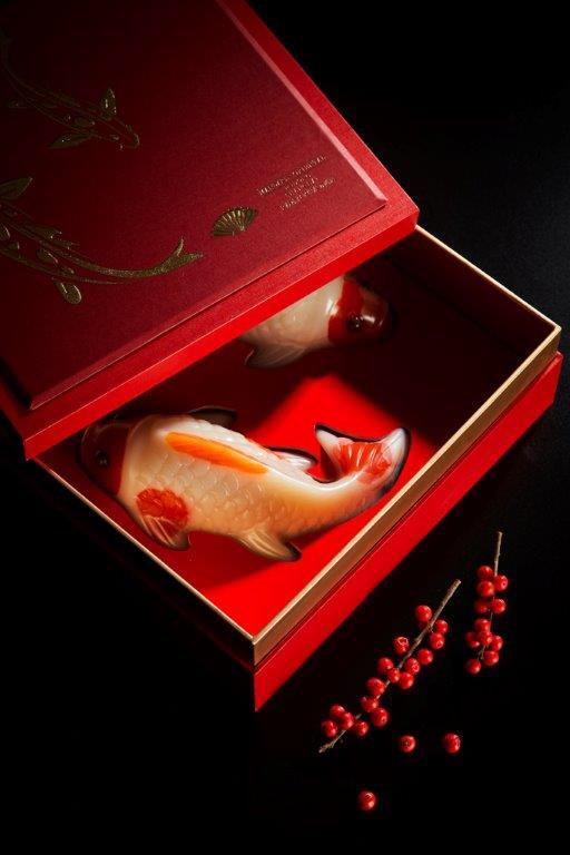 Mandarin oriental chinese new year cake