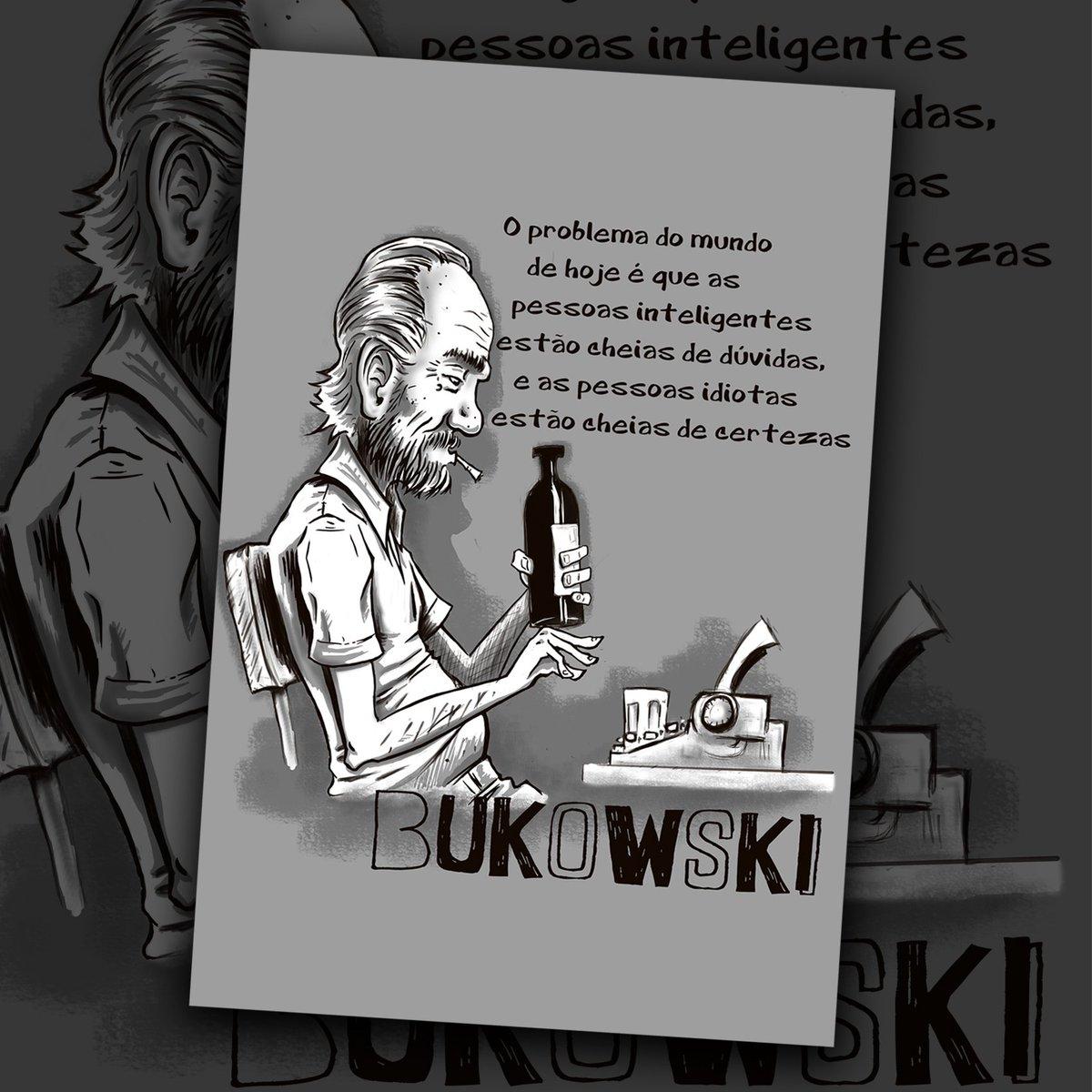 Antítese On Twitter Bukowski Arte Desenho Ilustração
