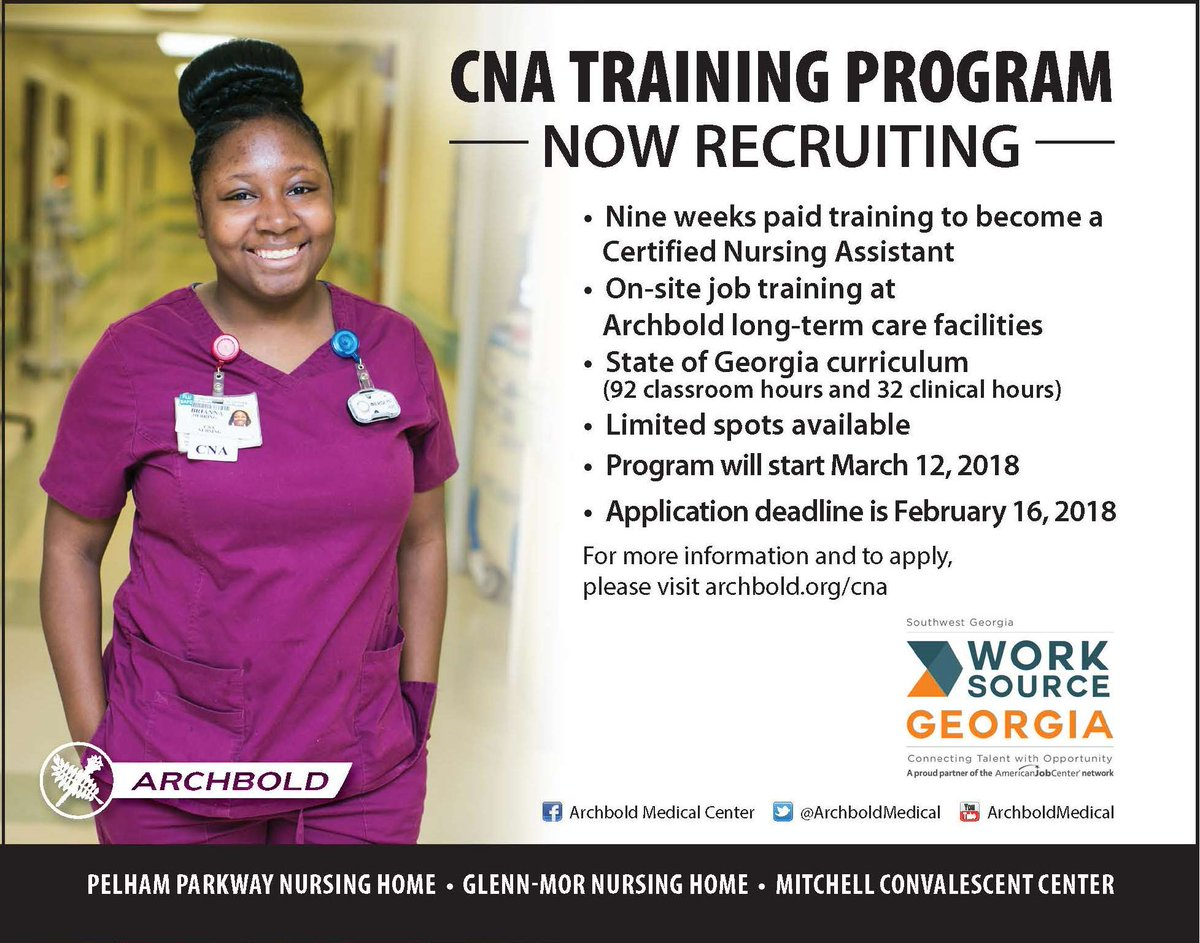 Archbold Medical Interested In Becoming A Cna