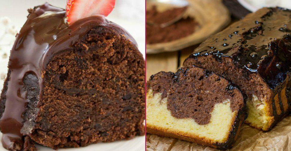 Bu Birbirinden Pofuduk Kakaolu Kek Tariflerini Görünce Hepsini Bir