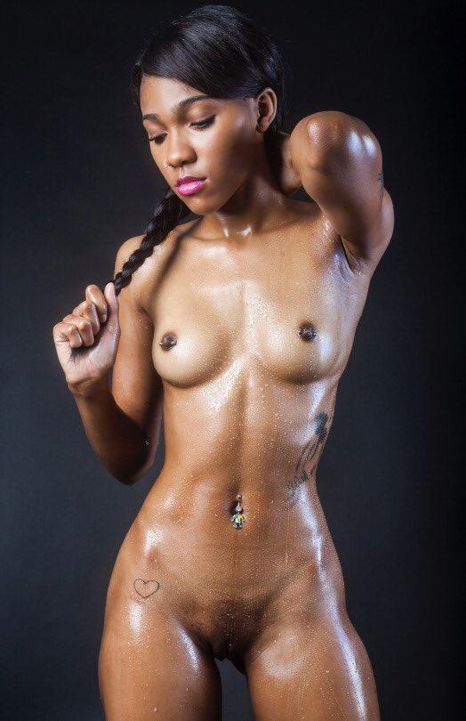 Beautiful mixed race girl nude