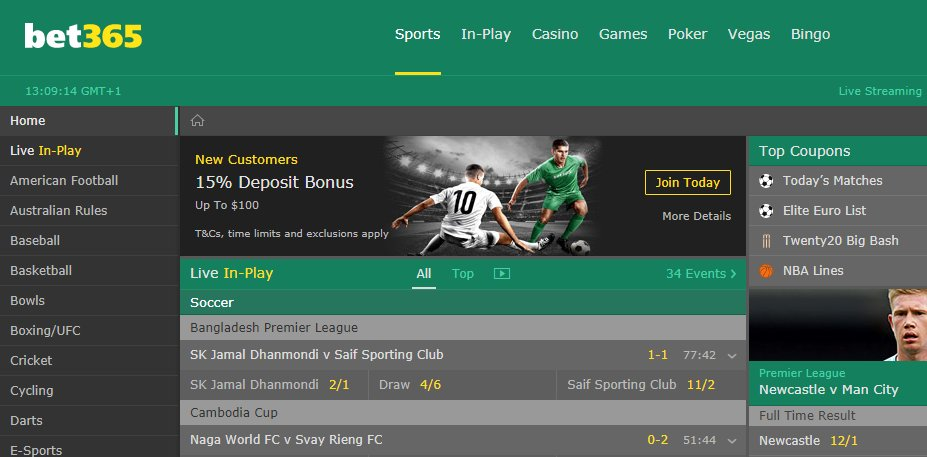 bet365 withdrawal