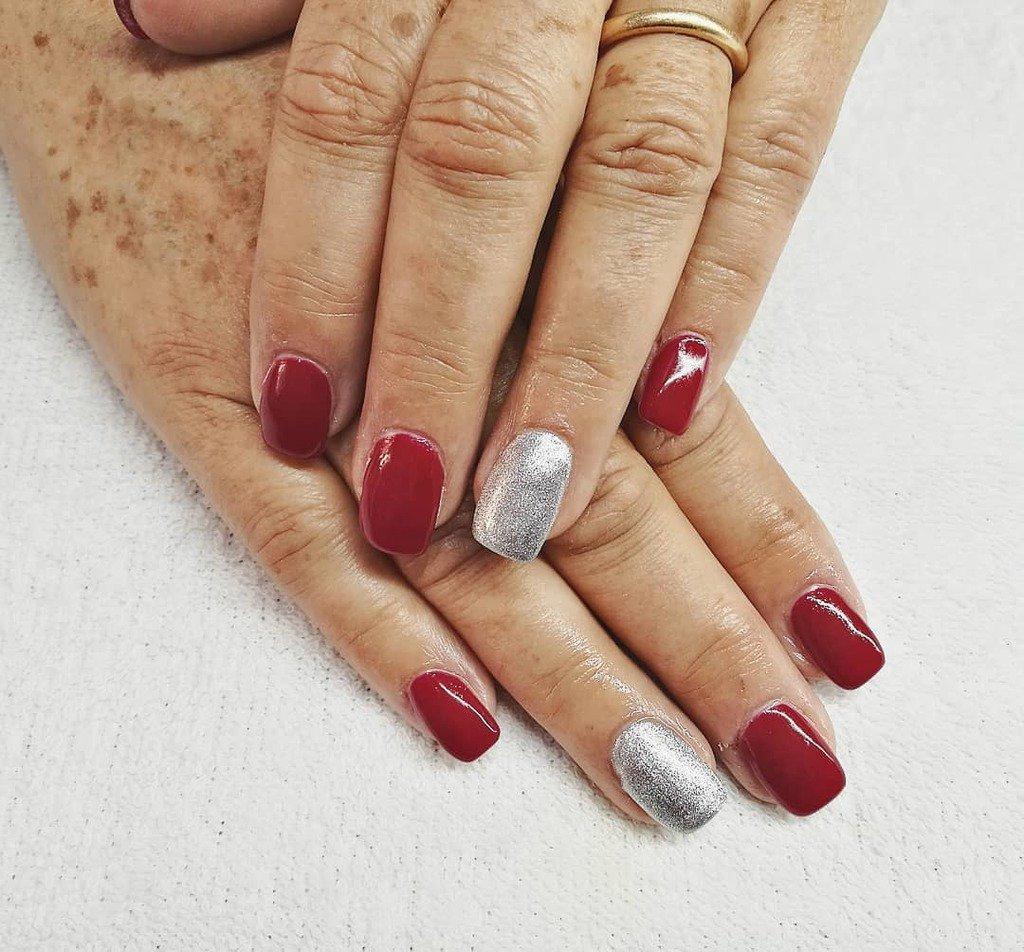 Revive Nail Beauty בטוויטר Uñas Acrílicas Rojas Para