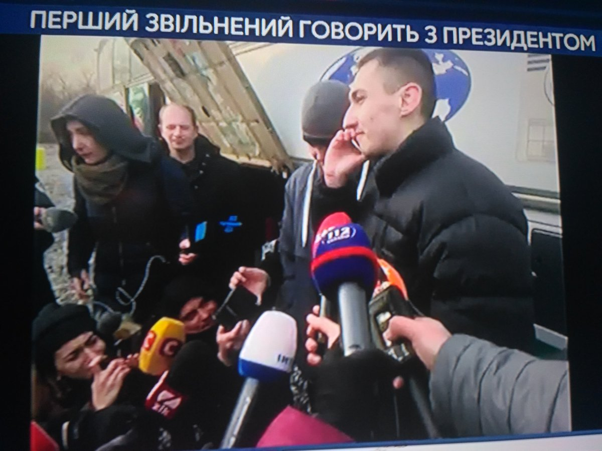 Відбувся обмін 73 на 233, - перший віце-спікер Ірина Геращенко оприлюднила уточнені дані про обмін заручників - Цензор.НЕТ 8876