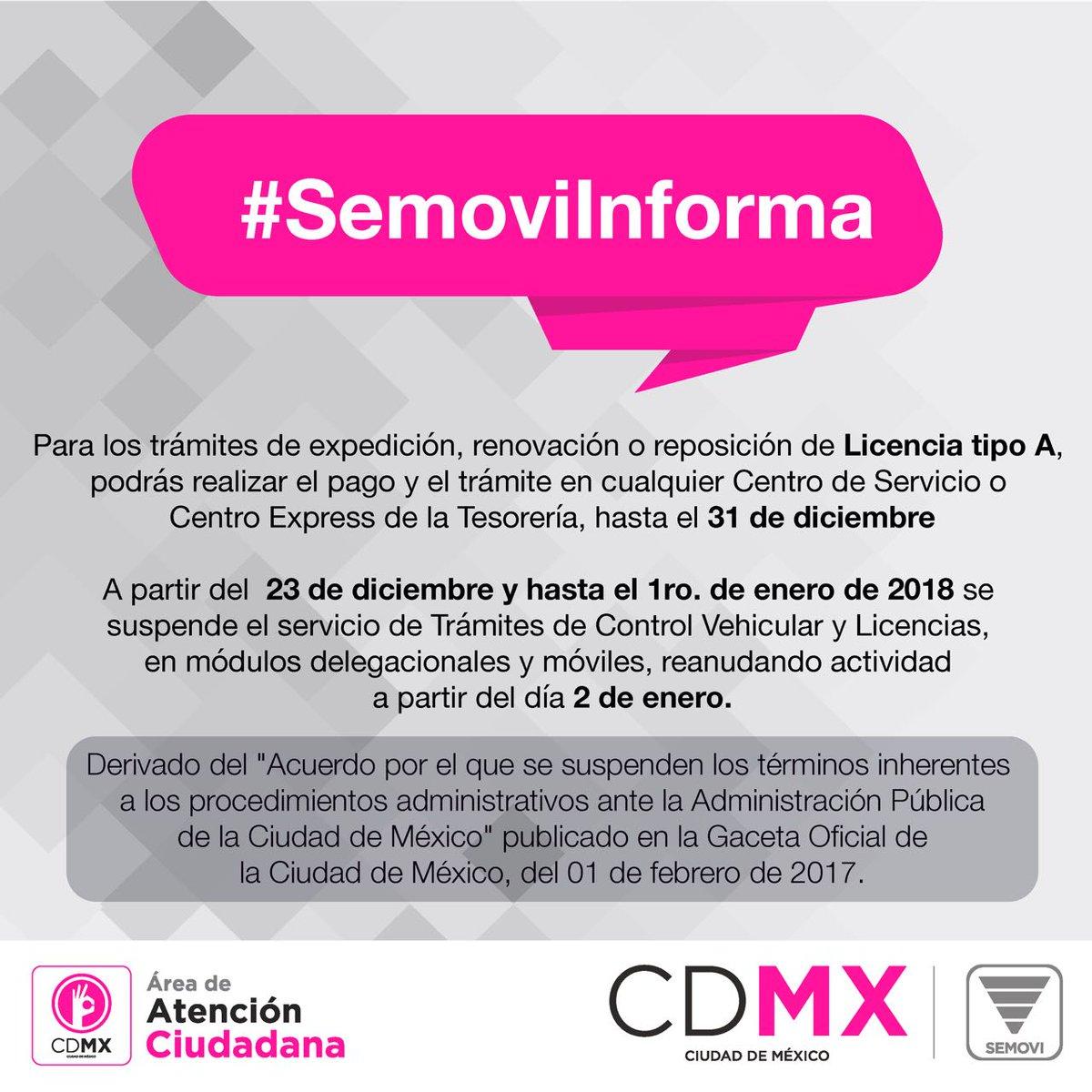 Secretaría De Movilidad Cdmx On Twitter Recuerda Que Hasta