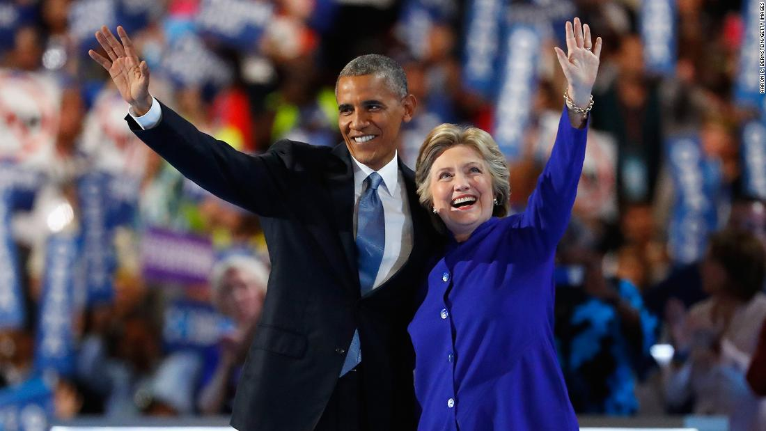 Gallup poll: Barack Obama and Hillary Clinton remain the most admired man and woman in the United States — a 10-year trend for Obama and 16 years running for Clinton  https://t.co/G0jWhvaIvp