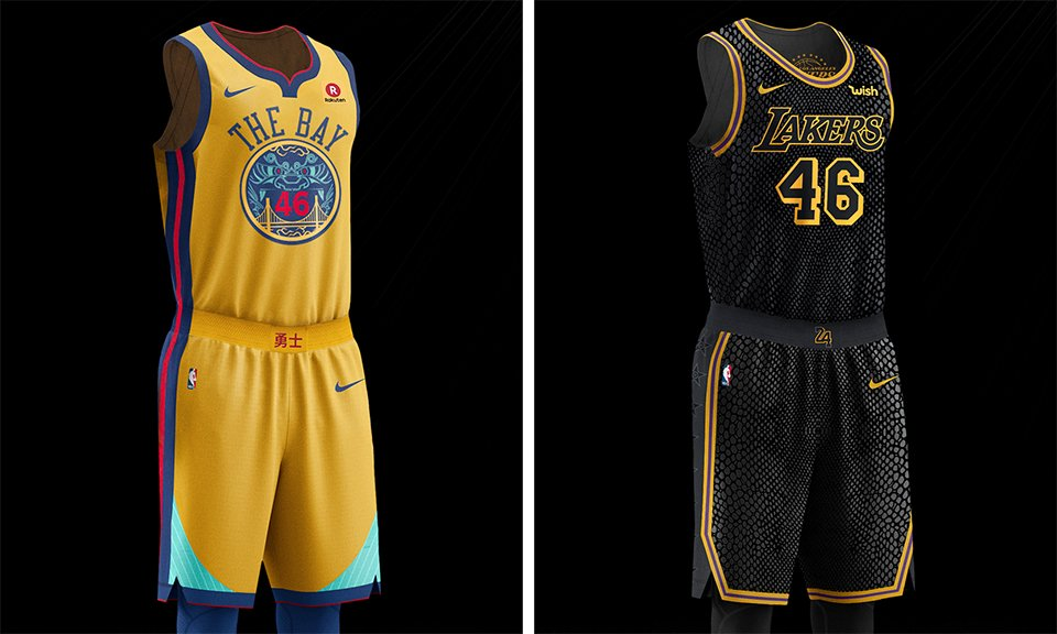 Nike's @NBA City Edition uniforms give the league an all-new look:  https://t.co/QPsza1jJHZ https://t.co/XsLl9VbUrI