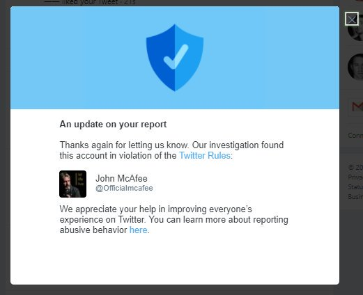 John McAfee on Twitter: