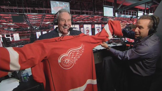 Hey gang, let s all wish Mickey Redmond a Happy Birthday!