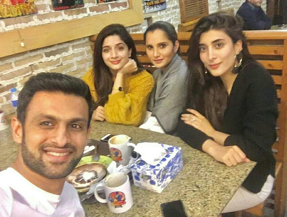 Image result for Sania Mirza Was Spotted At Lahore With Hocane Sisters